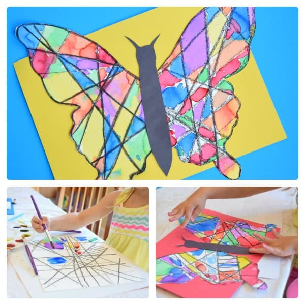 Simple Butterfly Art Project Ideas for Kids