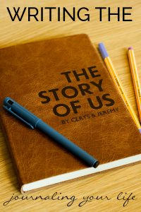 """Journalling """"The Story of Us"""" a perfect gift that is unique as you and your partner are and perfect for wedding gifts, anniversary gifts and birthday's for those that have everything"""