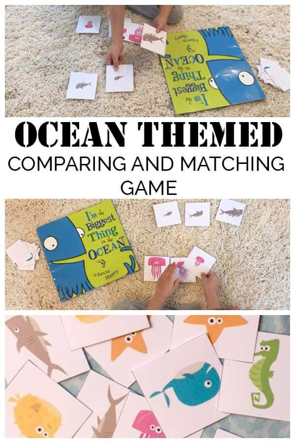 Ocean animal free printable games for kids
