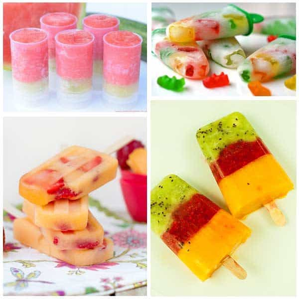 10 Delicious easy to make ice-pop recipes that kids can enjoy and keep them cool this summer