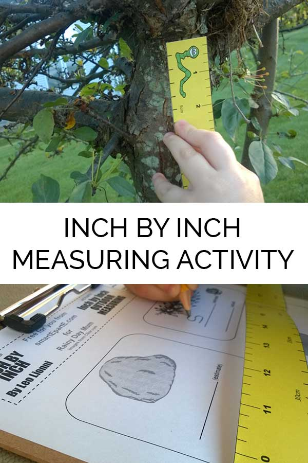 Inch by Inch Printable Measuring Activity