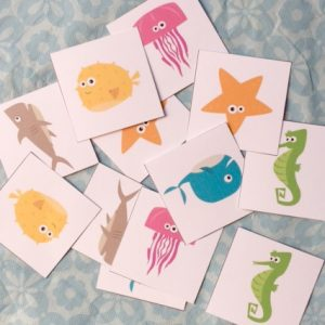 I'm the Biggest Thing in the Ocean FREE Printable Sorting and Memory Games for Preschoolers