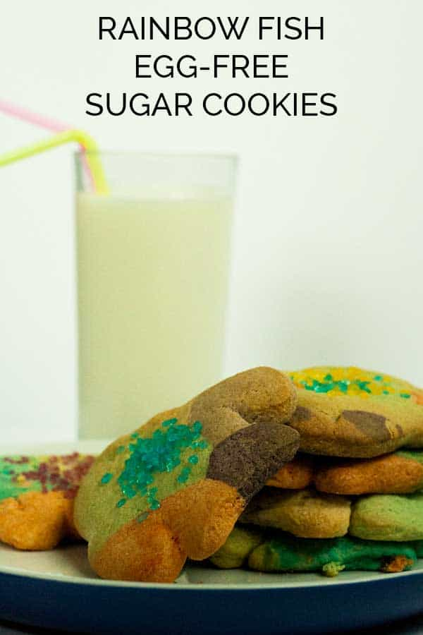 Rainbow Fish Sugar Cookies