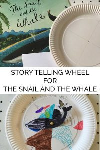 Story Telling Wheel for the Snail and the Whale