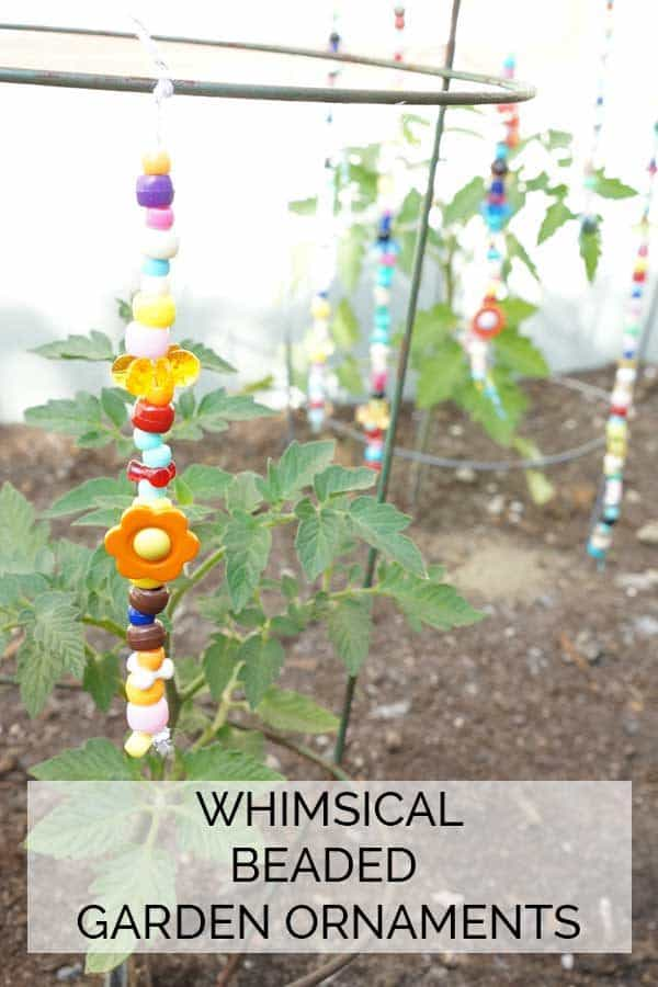 Whimsical Beaded Garden Ornaments