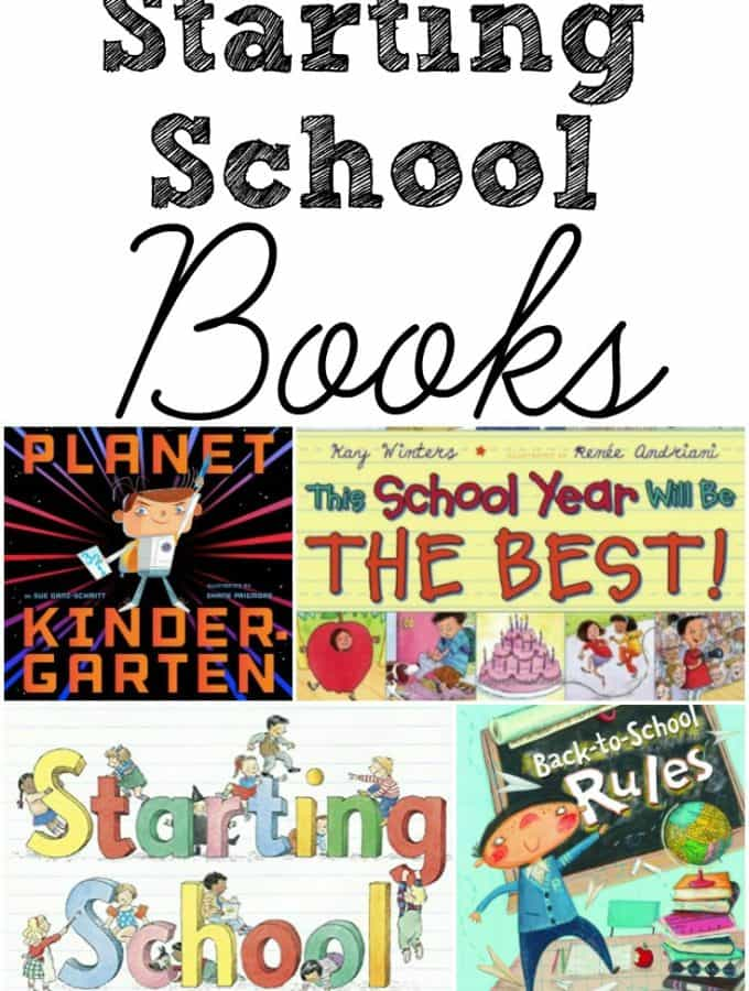 Help ease your preschoolers fears on starting school with this book list of favourites that you can read together and prepare them to start. Is your favourite on the list?