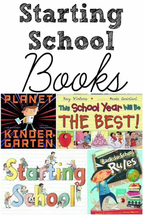 Getting Ready for School – Starting School Books