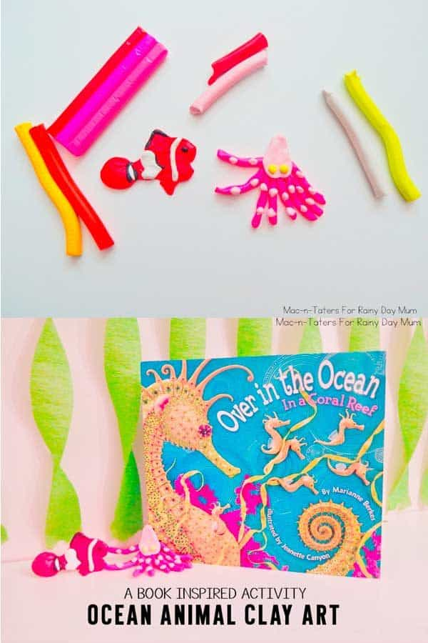 Ocean Animal Clay Art