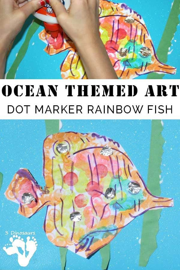 Dot Marker Art ~ Rainbow Fish