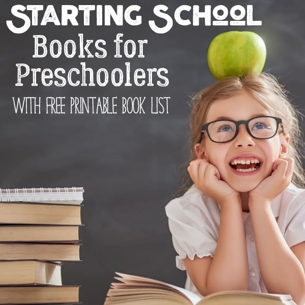 Books about Starting School for Preschoolers Heading to Big School this Year!