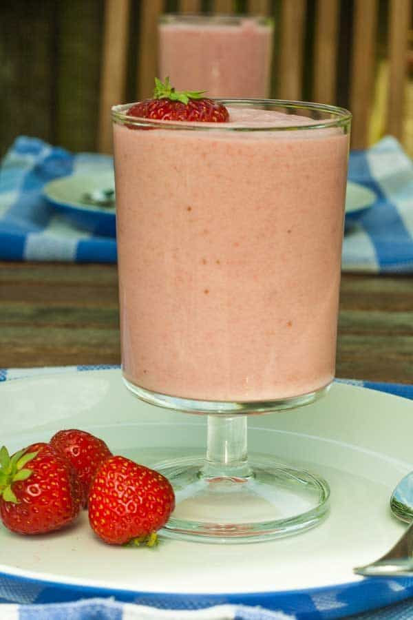 Traditional Strawberry Mousse