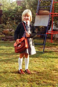 Back to School with Marks and Spencer - Uniform through the decades the 1980s to 2016 for our family