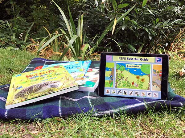 For The First Time RSPB Has Produced An App Children Birds