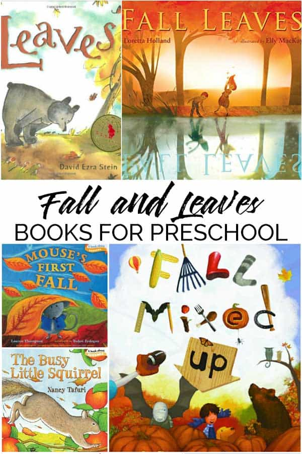 Fall and Leaves Books for Toddlers and Preschoolers