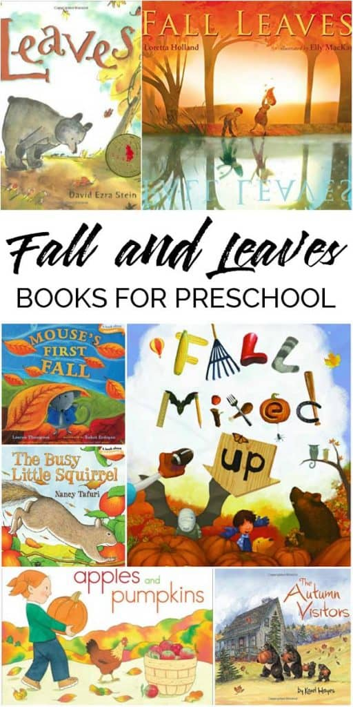 The best toddler and preschool autumn and leaf stories to read together. With autumn creatures and events a great addition to your read alouds this fall.