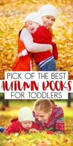 Pick of the best autumn books for toddlers with some fun fiction and non-fiction books on leaves, the changing seasons and the animals that feature as the seasons change.