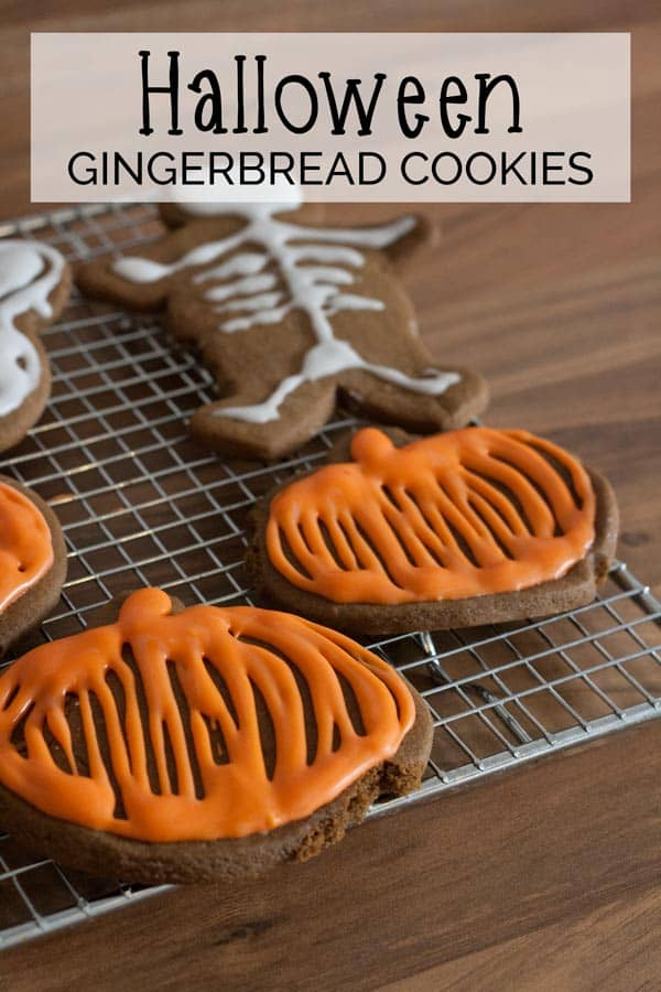 Gingerbread Halloween Cookies for you and Kids to Make