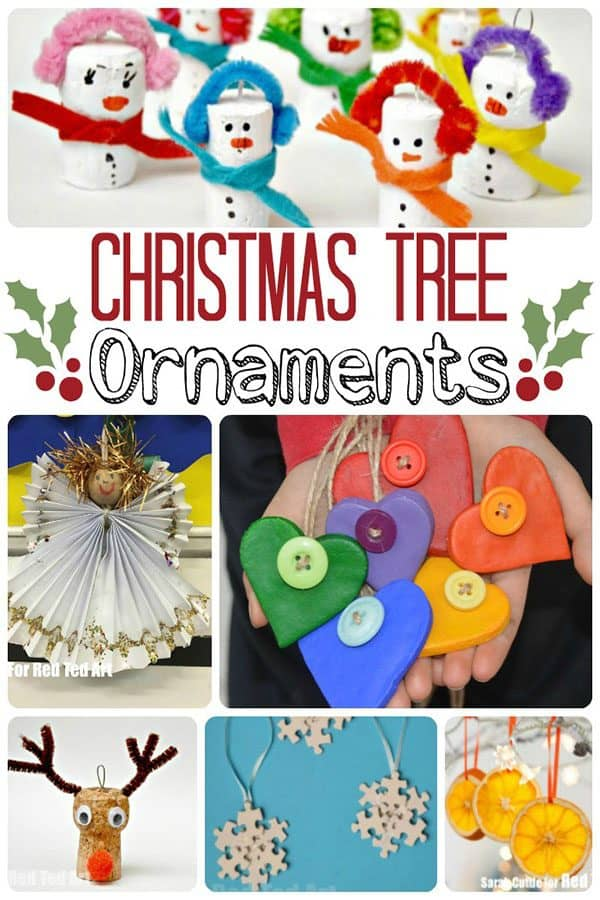 Christmas Tree Decorations to Make with Kids