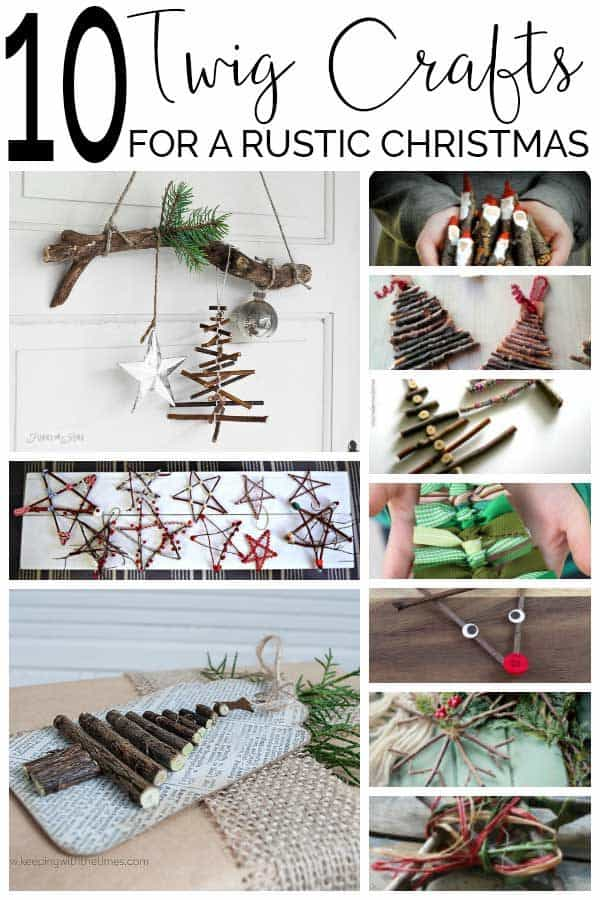 Twig Crafts for Christmas