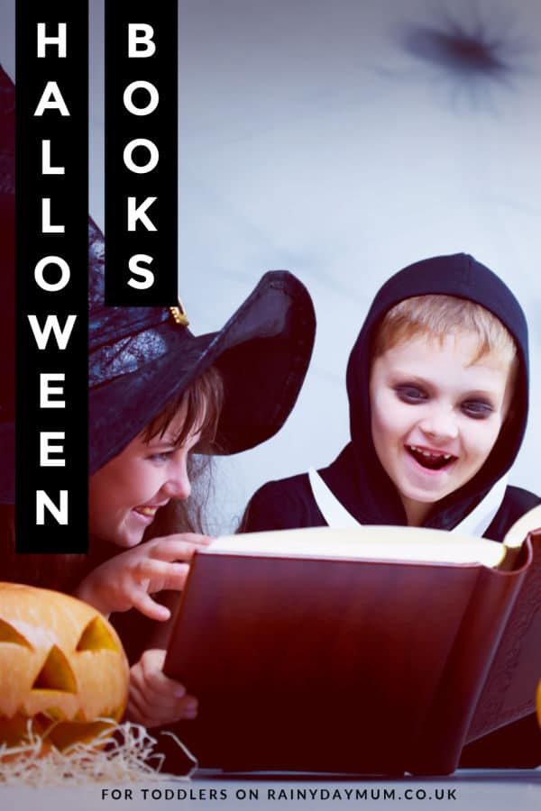Reading not so spooky halloween books with young kids