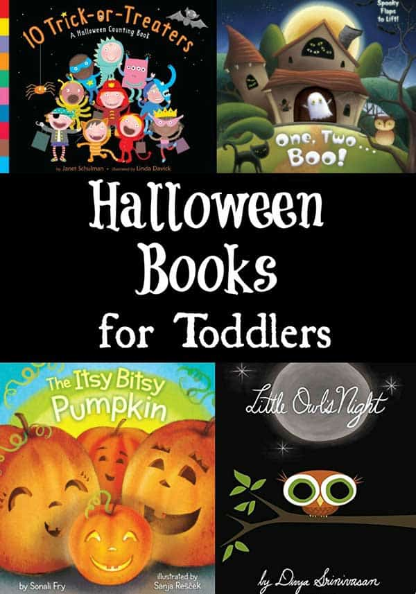 Not So Scary Halloween Books to Read Aloud to Toddlers and Preschoolers