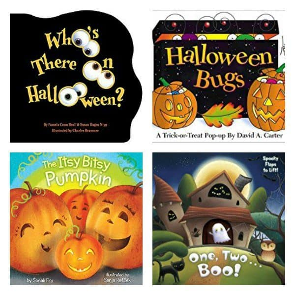 A guide to the best Halloween Books for toddlers and preschoolers, discover this fun none scary books that you can share together.