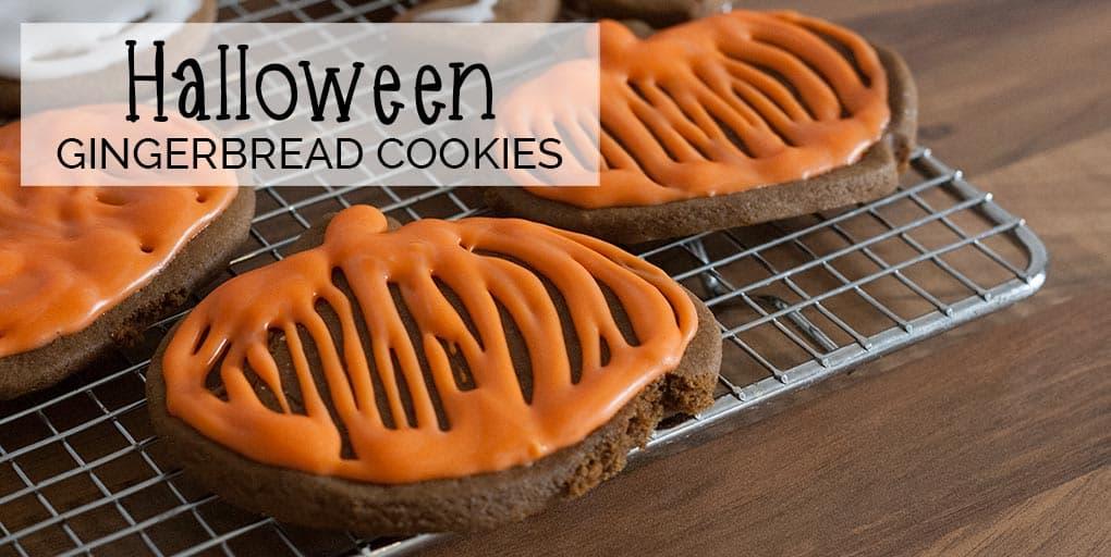 Halloween Gingerbread Cookies Recipe