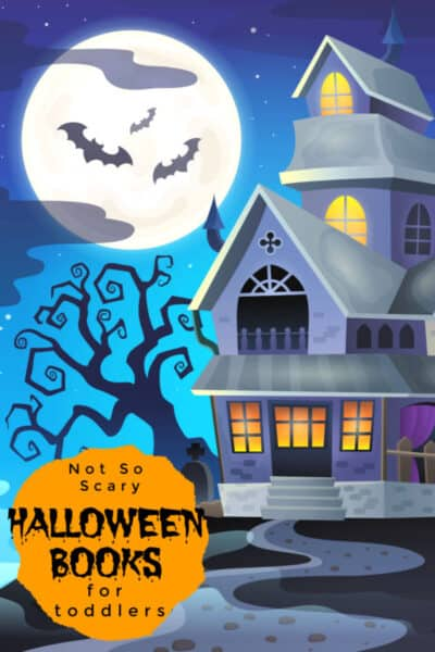 not so scary halloween books for toddlers