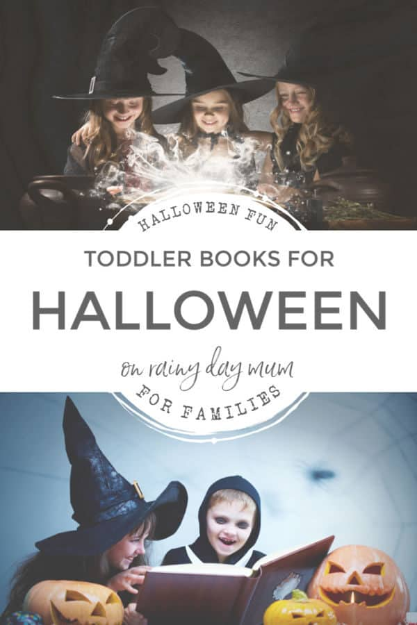 halloween fun for the family - toddler book recommendations for Halloween