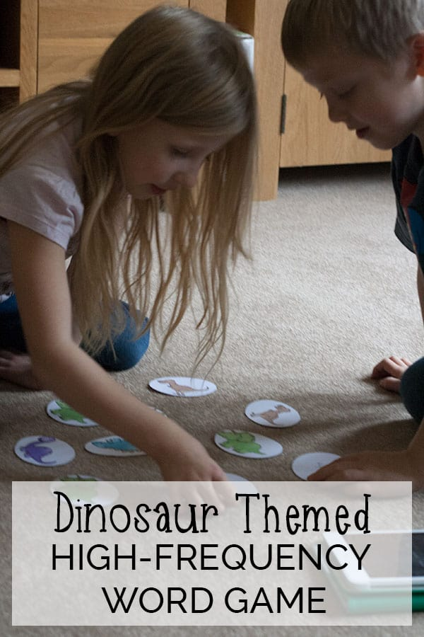 High-Frequency Words Dino Babies Game