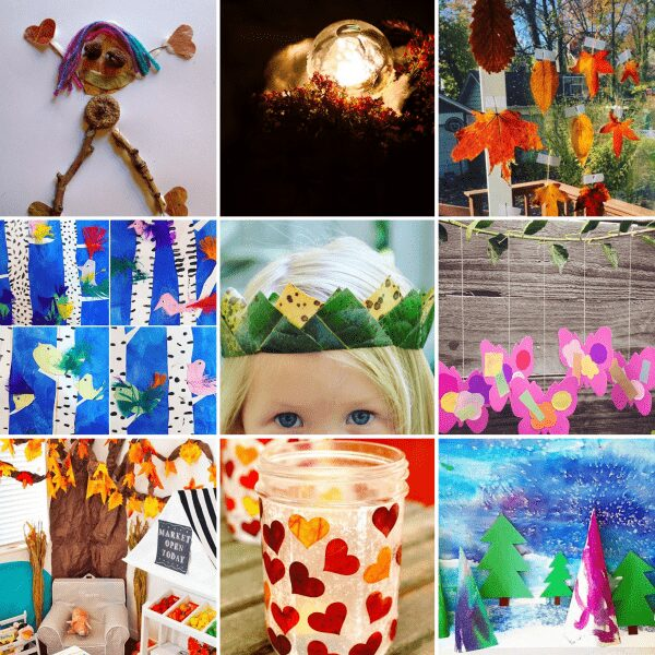 Guest judge Rainy Day Mum selects her favourite 9 Nature Inspired Kids Crafts from the Kids Crafts 101 hashtag on Instagram to inspire you to create too.