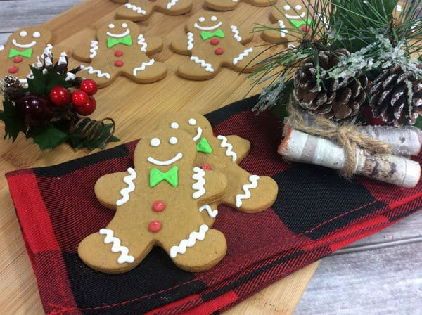Easy Gingerbread Recipe so simple kids can make it. Ideal for making Gingerbread Men and Cookies
