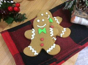 Gingerbread Man Recipe for Kids perfect for creating decorated cookies like these