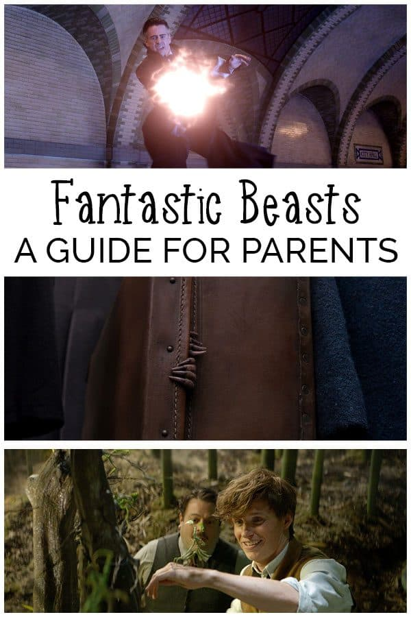 A review for parents of the latest JK Rowling Film Fantastic Beasts.