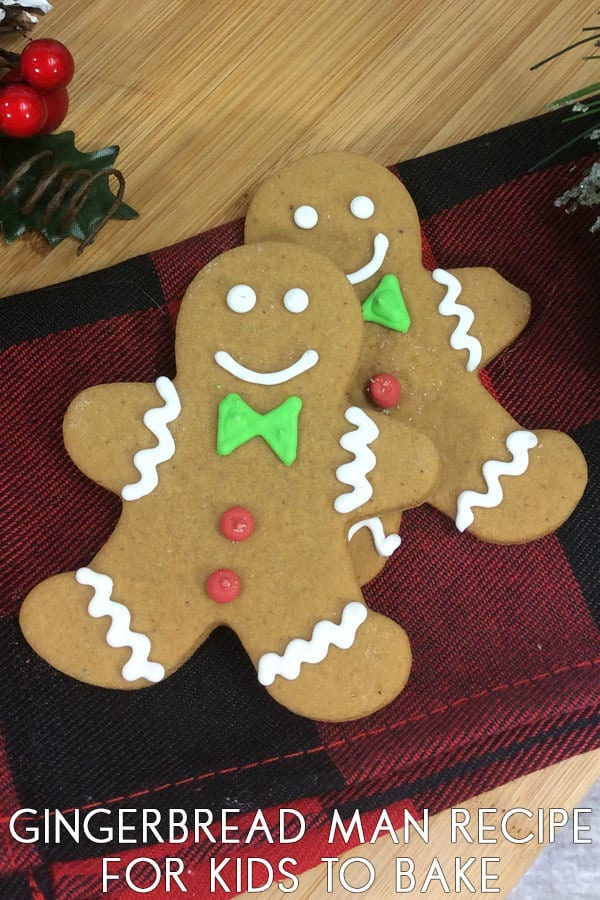 Kid-Friendly Gingerbread Man Cookie Recipe
