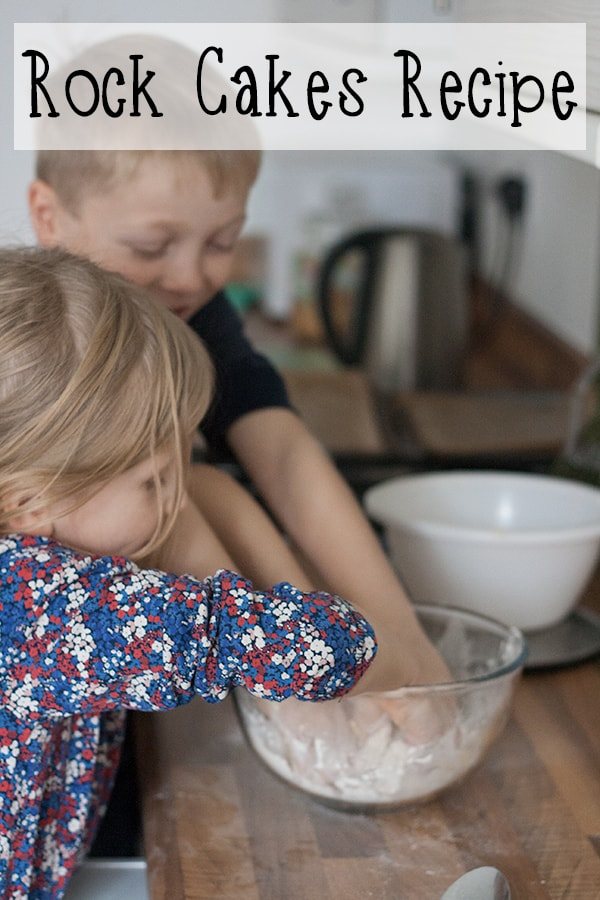 Ever so simple Rock Cake Recipe to make with kids