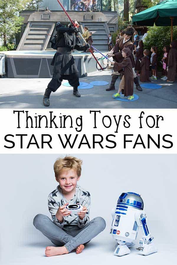 Thinking toys for Star Wars Fans - these robotic toys are perfect for all you Star Wars Fans #ad