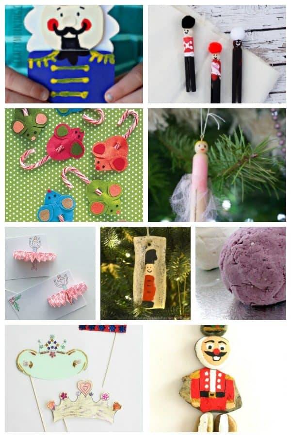 Be Inspired with 12 fantastic ideas for Nutcracker Crafts and Activities for Kids. Read the book, watch the film, visit the ballet and CREATE together.