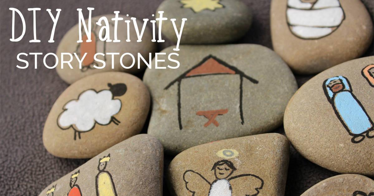 Diy Nativity Story Stones