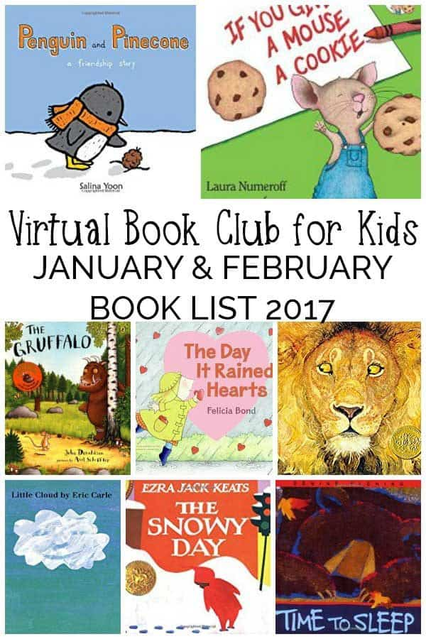 Featured Toddler and Preschool Books for January and February