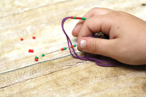 Polar Express themed STEM activity that creates a Key Chain at the same time
