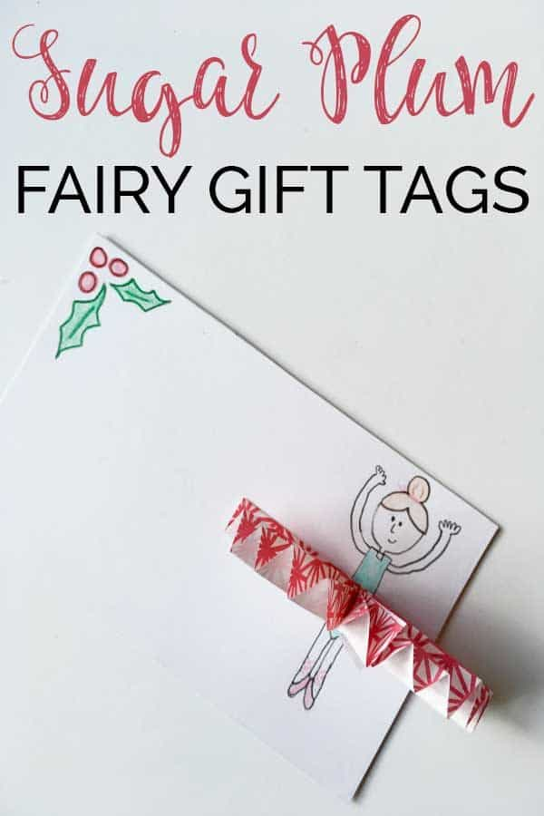 Sugar Plum Fairy Gift Tags