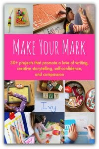 Make your Mark - brand new ebook with ideas for writing, storytelling, self confidence, and citzenship - available to buy NOW!