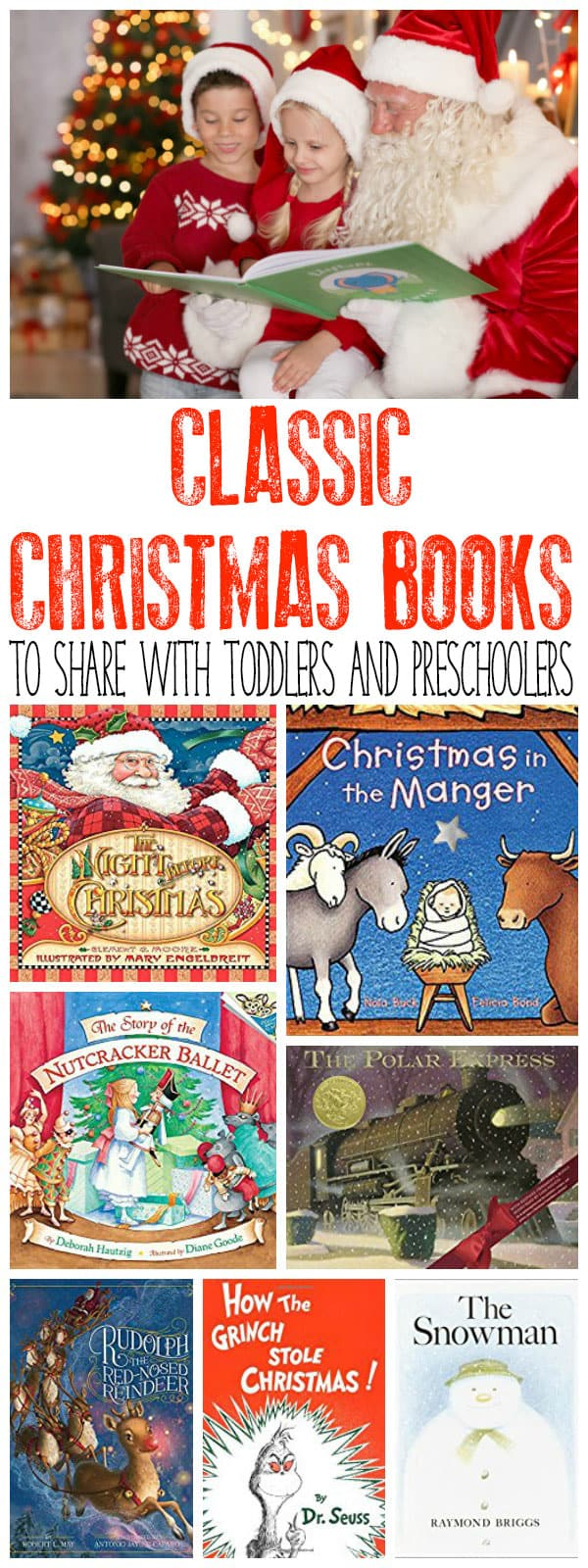 carefully chosen christmas books ideal to share with toddlers and preschoolers at home or in your - Classic Christmas Books
