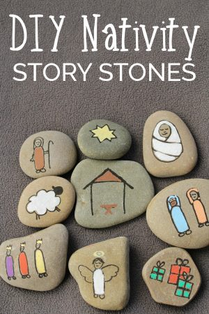 Create your own Nativity Story Stones to help children understand the true meaning of Christmas. These simple stones are easy to make.