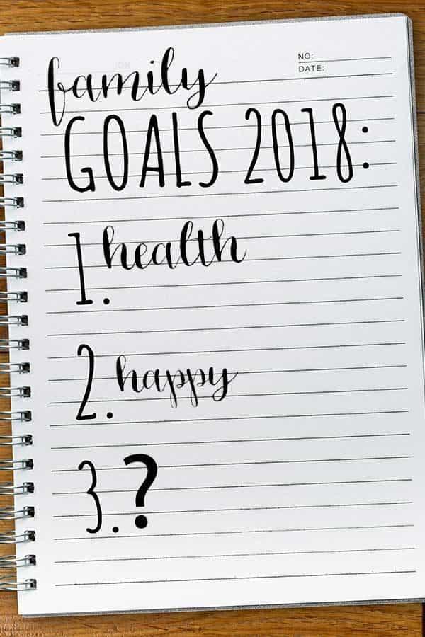 Setting Family Goals
