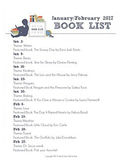Join the Virtual Book Club for Kids and discover the weekly themes as well as the featured books for January and February.
