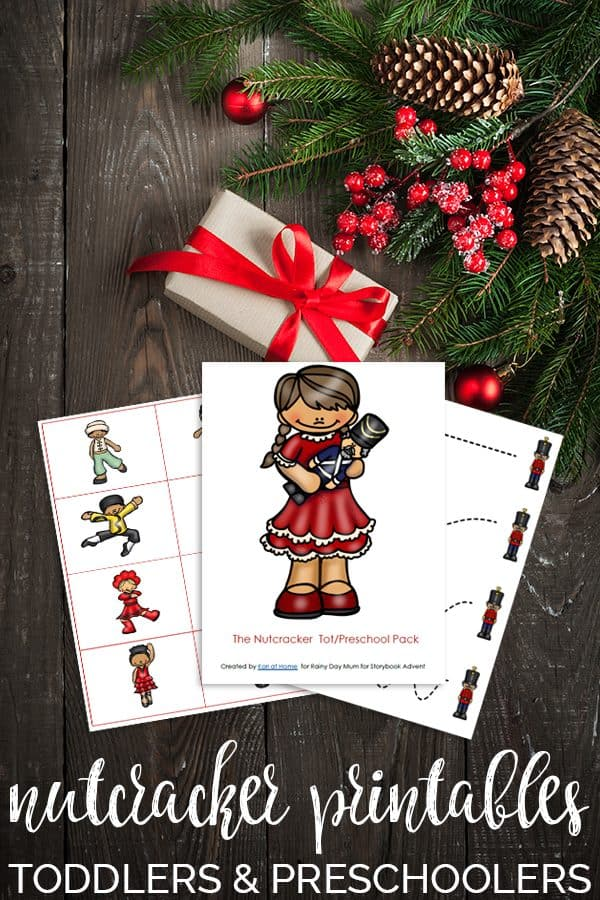 Nutcracker Printable Pack for Toddlers and Early PreSchool