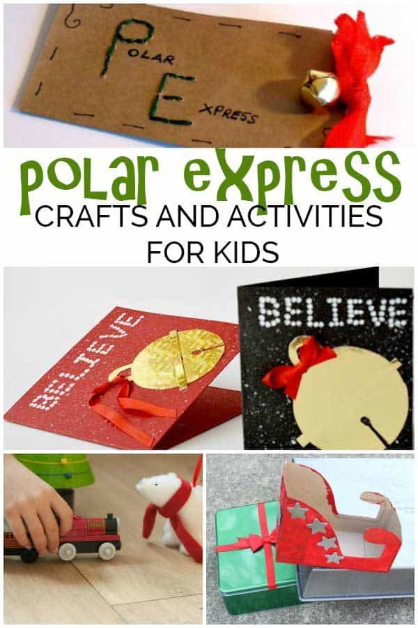 The Polar Express Activities and Crafts for Kids of all ages