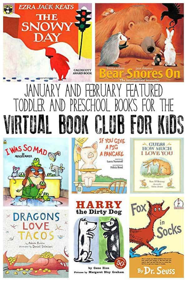 Virtual Book Club For Kids Book List For January And February